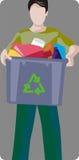 Serie de la ilustración de la ecología Imagen de archivo libre de regalías