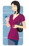 Serie de la ilustración de las compras