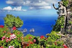 Capri Fotografía de archivo libre de regalías