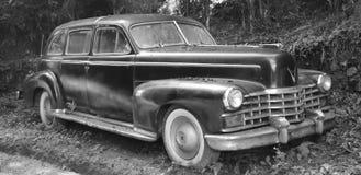 Serie 75 1947 de la limusina de Cadillac imagen de archivo