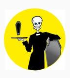 Serie de la muerte ilustración del vector