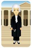 Serie de la profesión: Señora Justice Ilustración del Vector