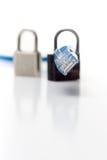 Serie de la seguridad de la red Imagen de archivo libre de regalías
