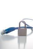 Serie de la seguridad de la red Foto de archivo