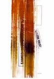 Serie de la textura de la pintura de los polvos Fotografía de archivo