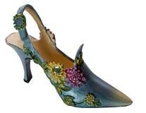 Serie de las Zapato-Flores (miniaturas) Imagen de archivo libre de regalías