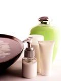 Serie de los cosméticos del BALNEARIO Fotos de archivo libres de regalías