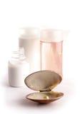 Serie de los cosméticos del BALNEARIO Imágenes de archivo libres de regalías