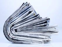 Serie de los periódicos Fotos de archivo