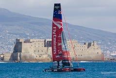 Serie de mundo de la taza de América 2012 en Nápoles Fotografía de archivo
