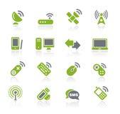 Serie de // Natura de la radio y de las comunicaciones ilustración del vector