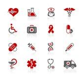 Serie de // Redico del cuidado de la medicina y del brezo libre illustration
