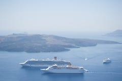 Serie de Santorini Grecia Imagen de archivo