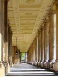 Serie de sepia de las columnas Imagenes de archivo