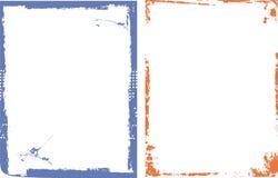 Serie dei bordi e del blocco per grafici Fotografia Stock Libera da Diritti