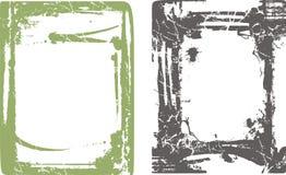 Serie dei bordi e del blocco per grafici illustrazione di stock