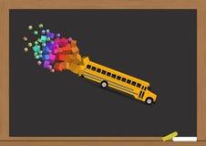 Serie del autobús escolar - 1 Fotografía de archivo