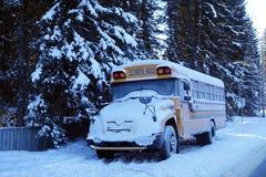 Serie del autobús escolar - 1 Imagen de archivo libre de regalías