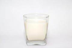 Serie del bicchiere di latte Fotografie Stock Libere da Diritti