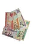 Serie del billete de banco del Peso de la República Dominicana Foto de archivo