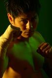 Serie del boxeador Fotografía de archivo