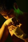 Serie del boxeador imágenes de archivo libres de regalías