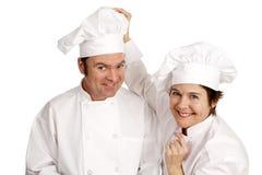 Serie del cocinero - amistad imágenes de archivo libres de regalías