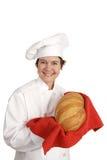 Serie del cocinero - pan italiano fotografía de archivo
