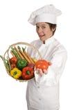Serie del cocinero - tomate para usted fotos de archivo libres de regalías