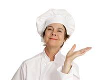 Serie del cuoco unico - Voila Immagini Stock Libere da Diritti