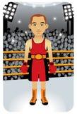 Serie del deporte: Boxeador Ilustración del Vector