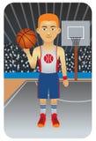 Serie del deporte: Jugador de básquet Fotos de archivo