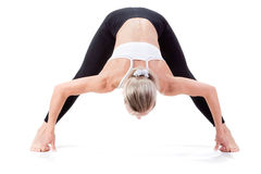 Serie del deporte: yoga Imagenes de archivo