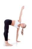 Serie del deporte: yoga Fotografía de archivo
