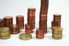 Serie del dinero fotografía de archivo