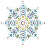 Serie del diseño de los adornos del otomano con cincuenta y dos stock de ilustración