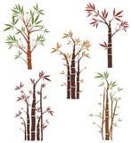 Serie del diseño del árbol Imagen de archivo