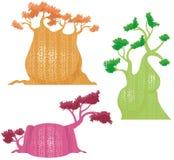 Serie del diseño del árbol