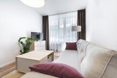 Serie del diseño interior: Sala de estar moderna Fotografía de archivo