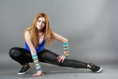 Serie del estudio de hip-hop del baile del adolescente Imagen de archivo libre de regalías