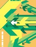 Serie del fondo de la flecha libre illustration