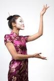 Serie del geisha Fotografie Stock