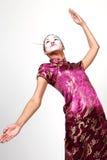 Serie del geisha Immagini Stock Libere da Diritti