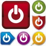 Serie del icono: con./desc. Foto de archivo libre de regalías