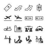 Serie 2 del icono de la aviación libre illustration