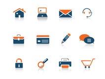 Serie del icono del Web Fotografía de archivo libre de regalías