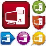 Serie del icono: PC stock de ilustración