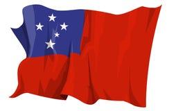 Serie del indicador: Samoa Stock de ilustración