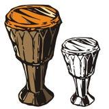 Serie del instrumento de música Imagen de archivo