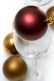 Serie del ornamento de la Navidad Fotos de archivo